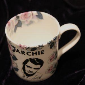 Archie Mug - Pink Rose of Tralee Front