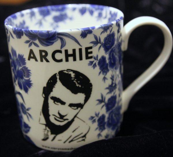 Archie Mug - Blue Rose Front